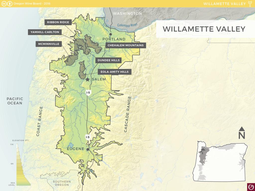 Willamette Valley AVA | Oregon Wine Resource Studio