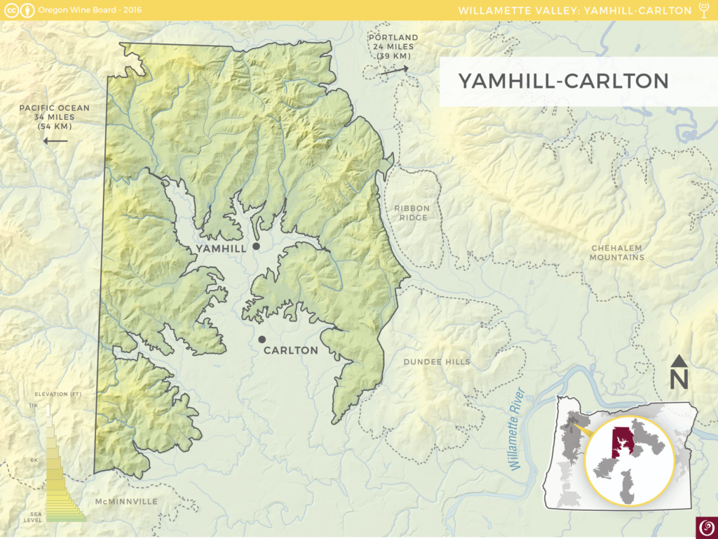 Yamhill Carlton Oregon Wine Resource Studio